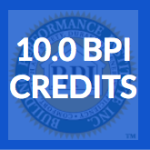 BPI Continuing Education – 10 CEU Package B