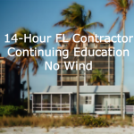14-Hour FL Contractor Continuing Education Online (No Wind)