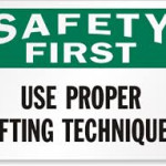 Back Protection and Lifting Procedures Online Anytime