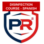 COVID-19 Disinfection Certification Online Spanish