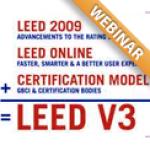 LEED NC: Bridging the Gap From v2 to v3 Webinar